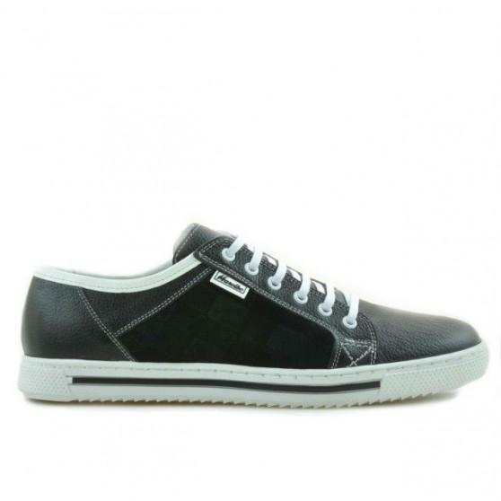 Pantofi sport barbati 851 negru+alb