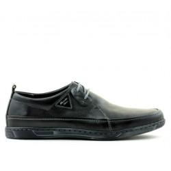 Men casual shoes 744 black
