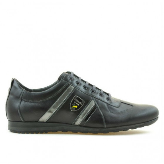 Pantofi sport barbati (marimi mari) 711m negru+gri