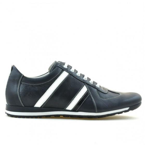 Pantofi sport barbati 711 indigo+alb