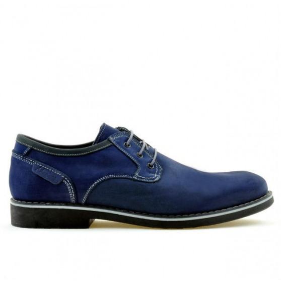 Men casual shoes 856 bufo indigo