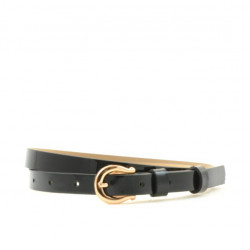 Women belt 04m patent black