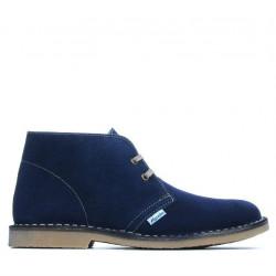 Women boots 7100 indigo velour