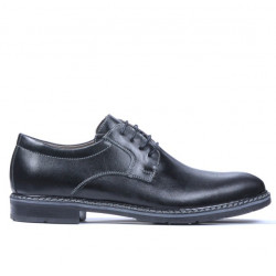 Men stylish, elegant, casual shoes 755-1 black
