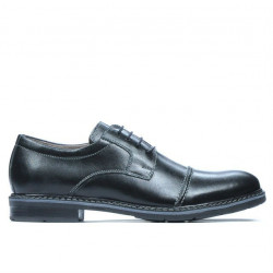 Men stylish, elegant, casual shoes 756-1 black