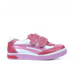Small children shoes 16c pink+white