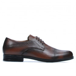 Teenagers stylish, elegant shoes 396 a brown