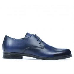 Pantofi eleganti adolescenti 398 a indigo