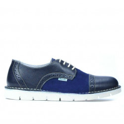 Women casual shoes 7001 indigo combined