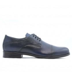 Teenagers stylish, elegant shoes 396 a indigo