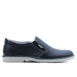 Men casual shoes (large size) 7200m indigo