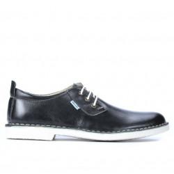 Men casual shoes (large size) 7201m black