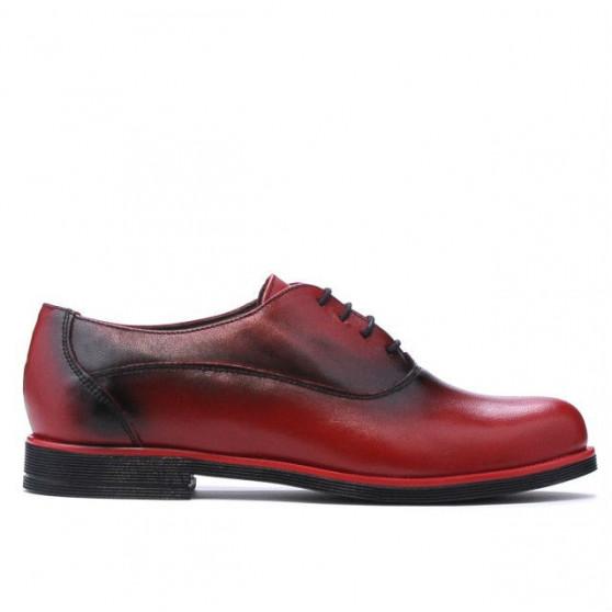 Pantofi casual dama 671 a rosu