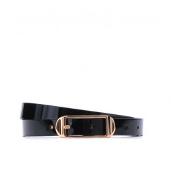 Women belt 03m patent black