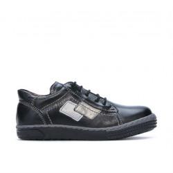 Pantofi copii mici 57-1c negru
