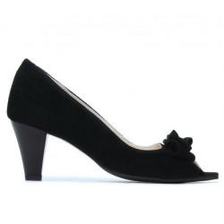Sandale dama 1255 negru antilopa