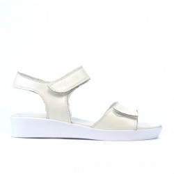 Sandale copii 532 bej sidef