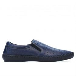 Men loafers, moccasins 820 indigo