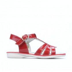 Sandale copii mici 53c lac rosu