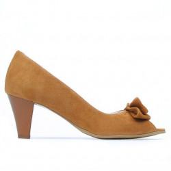 Sandale dama 1255 camel antilopa