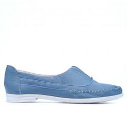 Mocasini dama 675 bleu