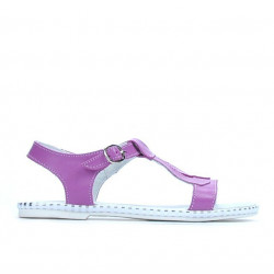 Children sandals 534 purple