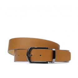 Men belt 12b brown deschis