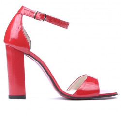 Sandale dama 1259 lac rosu