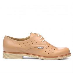 Pantofi casual dama 678 caramel