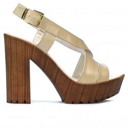 Sandale dama 5030 bej