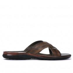 Sandale barbati 317 maro