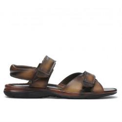 Sandale barbati 316 maro