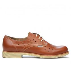 Women casual shoes 678 brown