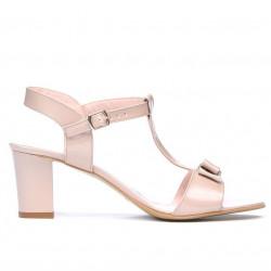 Sandale dama 1257 lac bej sidef
