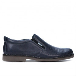 Men casual shoes (large size) 7200mp indigo