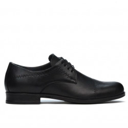 Teenagers stylish, elegant shoes 396 black