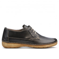 Women loafers, moccasins 672s cafe