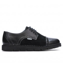 Women casual shoes 7001-1 black combined