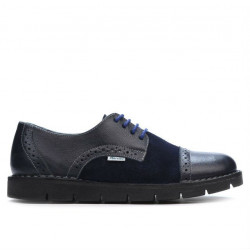 Women casual shoes 7001-1 indigo combined