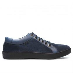 Pantofi casual/sport barbati 841 indigo combinat