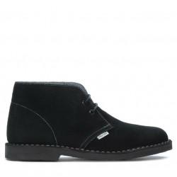 Women boots 7100-1 black velour