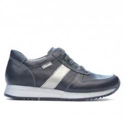 Pantofi sport dama 679 indigo+argintiu