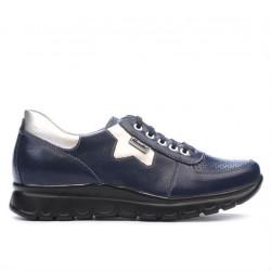 Pantofi sport dama 680 indigo combinat