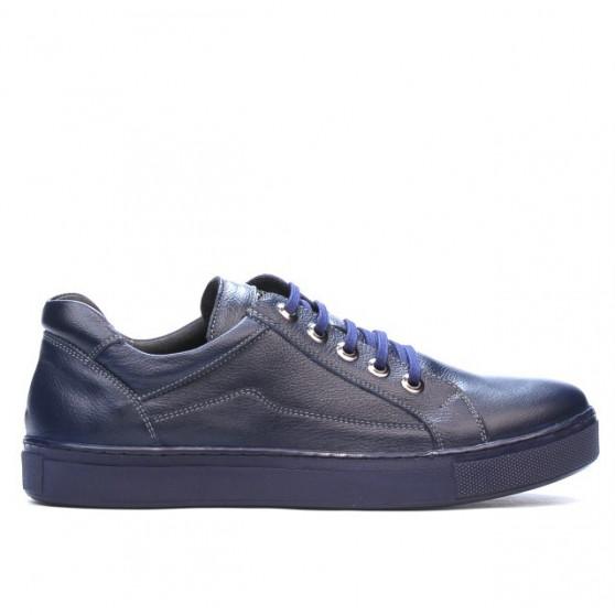 Pantofi sport barbati 830-1 indigo. Pret accesibil. Piele naturala. e967aa20d1