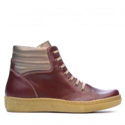 Women boots 3310 bordo combined