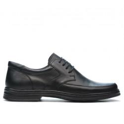 Men stylish, elegant shoes 843m black