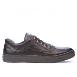 Pantofi sport barbati 830-1 cafe