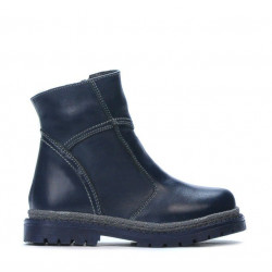Small children boots 35c indigo
