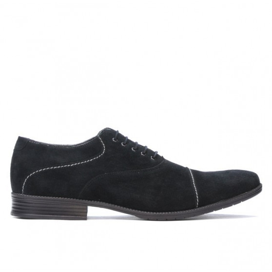 Pantofi casual / eleganti barbati 738 negru velur
