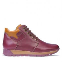 Men boots 495 bordo+brown